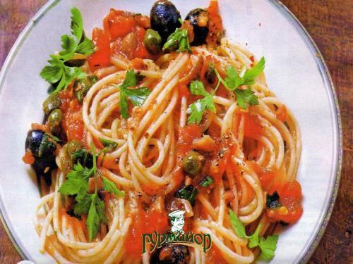 итальянская паста к спагетти