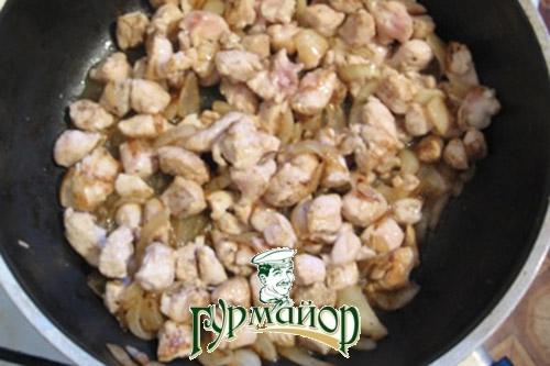 Макароны с грибами и курицей рецепты