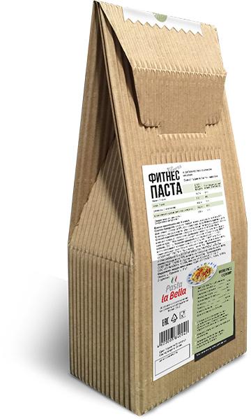 Фитнес паста с льняным семенем (обратная сторона упаковки)
